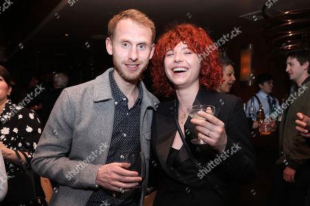 Robert Emms and Jessie Buckley