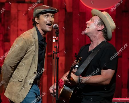 Editorial picture of Mack, Jack & McConaughey Jack Ingram & Friends benefit concert, ACL Live, Moody Theater, Austin, Texas, USA - 26 Apr 2019