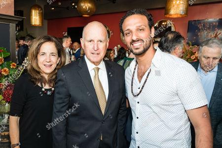 Anne Gust, Jerry Brown, Ari'el Stachel