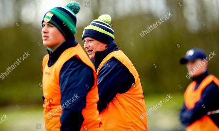Stock Picture of Laois vs Limerick. Limerick manager Kevin Connolly
