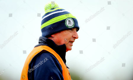 Stock Photo of Laois vs Limerick. Limerick manager Kevin Connolly