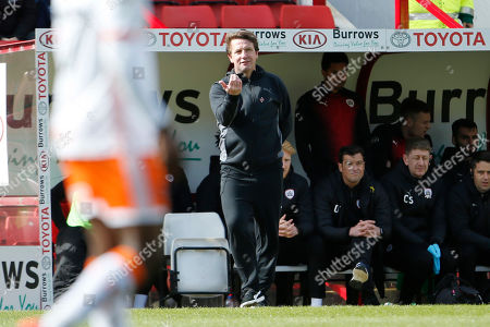 Editorial picture of Barnsley v Blackpool, EFL Sky Bet League 1 - 27 Apr 2019