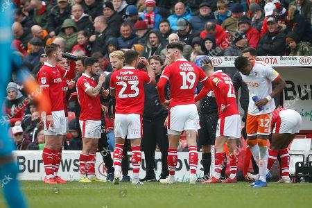 Editorial image of Barnsley v Blackpool, EFL Sky Bet League 1 - 27 Apr 2019