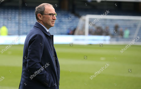 Martin O'Neill manager of Nottingham Forest