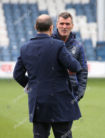 Roy Keane - Assistant Manager with Martin O'Neill manager of Nottingham Forest
