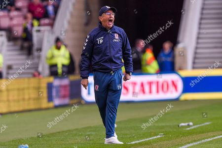 Manager Tony Pulis of Middlesbrough