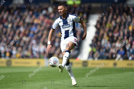 West Bromwich Albion defender Kieran Gibbs (3) controls the ball during the EFL Sky Bet Championship match between West Bromwich Albion and Rotherham United at The Hawthorns, West Bromwich