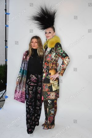 Fergie Duhamel and model