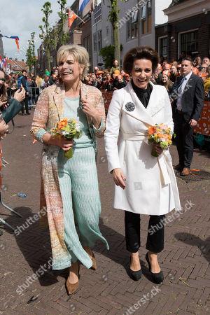 Princess Laurentien and Princess Annette