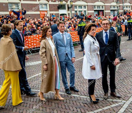 Prince Floris, Princess Aimee, Prince Pieter-Christiaan, Princess Anita, Prince Bernhard and Princess Annette