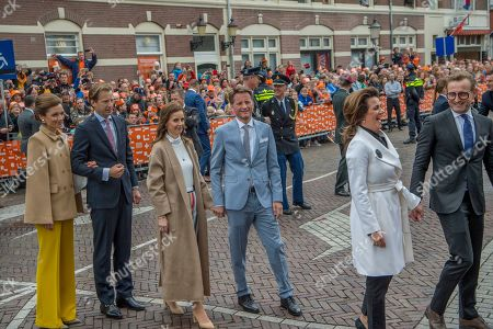 Prince Floris, Princess Aimee, Prince Pieter-Christiaan, Princess Anita, Prince Bernhard and Princess Annette