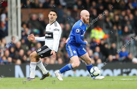 Aron Gunnarsson of Cardiff City looks to play the ball forward