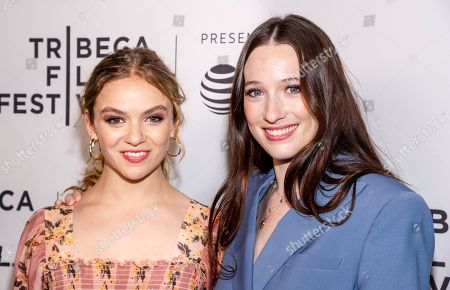 Stock Image of Morgan Saylor and Sophie Lowe