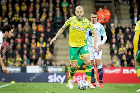 Norwich City forward Teemu Pukki (22)   during the EFL Sky Bet Championship match between Norwich City and Blackburn Rovers at Carrow Road, Norwich