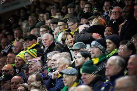 Norwich owner Delia Smith during the EFL Sky Bet Championship match between Norwich City and Blackburn Rovers at Carrow Road, Norwich