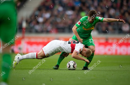 Editorial photo of VfB Stuttgart vs Borussia Moenchengladbach, Germany - 27 Apr 2019