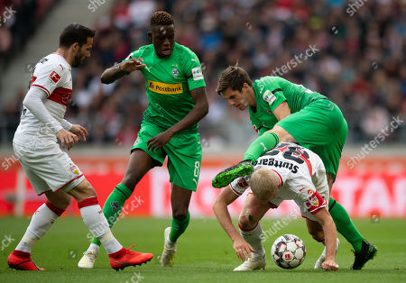 Editorial image of VfB Stuttgart vs Borussia Moenchengladbach, Germany - 27 Apr 2019