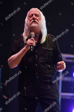 Editorial image of Edgar Winter in concert,The Beatles on the Beach music festival Florida, USA - 26 Apr 2019
