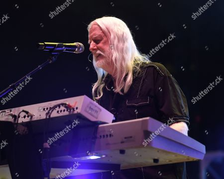 Editorial picture of Edgar Winter in concert,The Beatles on the Beach music festival Florida, USA - 26 Apr 2019