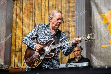 Stock Picture of Boz Scaggs performs at the New Orleans Jazz and Heritage Festival, in New Orleans