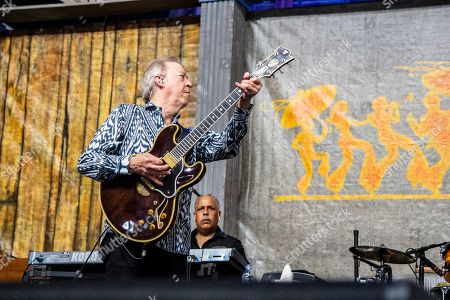 Boz Scaggs performs at the New Orleans Jazz and Heritage Festival, in New Orleans