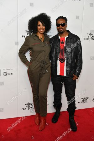 Kim Wayans and Shawn Wayans