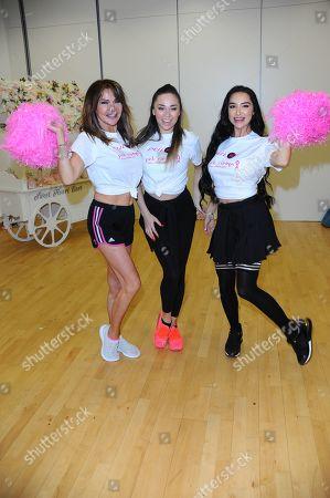 Lizzie Cundy, Katya Jones and Natasha Grano
