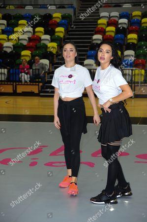 Katya Jones and Natasha Grano