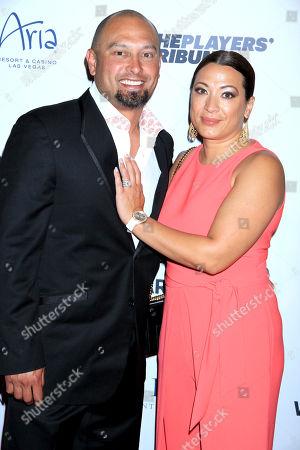 Stock Picture of Shane Victorino, Melissa Smith Victorino