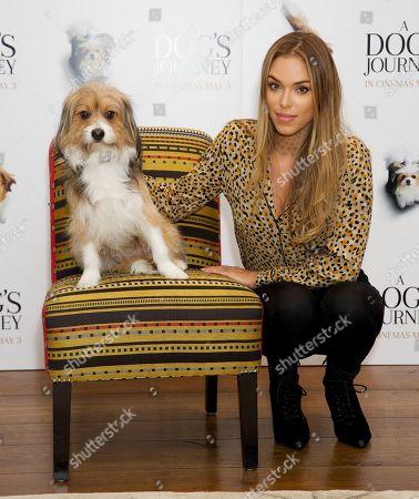 Arabella Drummond and dog