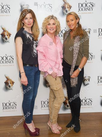 Pipa Tomson, Anthea Turner and guest