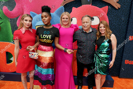 Emma Roberts, Janelle Monae, Kelly Clarkson, Kelly Asbury, Director, Alison Peck, Writer,