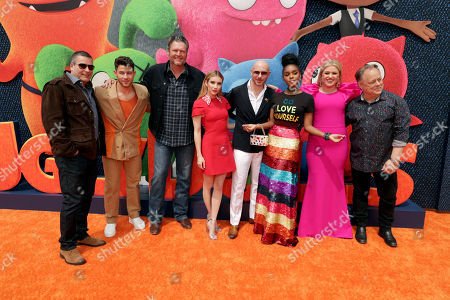 Oren Aviv, Producer, Nick Jonas, Blake Shelton, Emma Roberts, Pitbull, Janelle Monae, Kelly Clarkson, Kelly Asbury, Director,