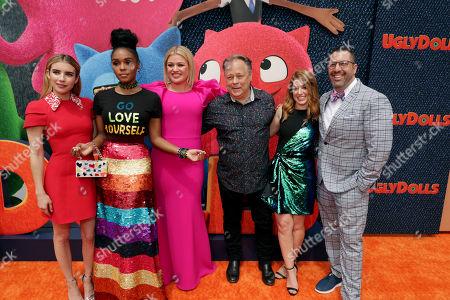Emma Roberts, Janelle Monae, Kelly Clarkson, Kelly Asbury, Director, Alison Peck, Writer, Christopher Lennertz, Composer,