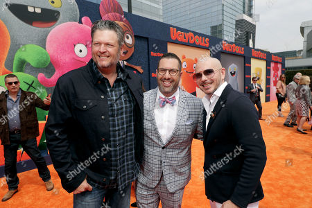Editorial image of STXfilms presents the World Premiere of 'Ugly Dolls' at Regal Cinema LA Live, Los Angeles, USA - 27 April 2019