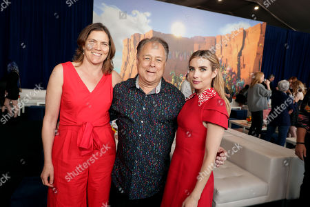 Stock Picture of Jane Hartwell, Producer, Kelly Asbury, Director, Emma Roberts