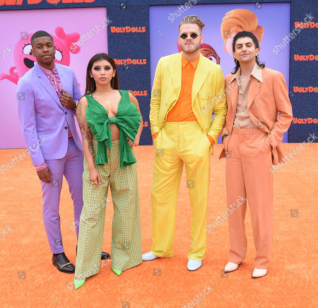 Penatonix - Matt Sallee, Kirstin Maldonado, Scott Hoying, and Mitch Grassi