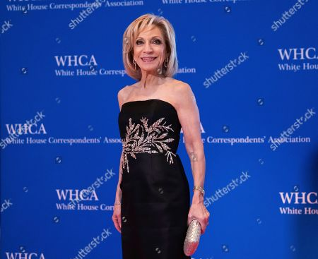 Stock Picture of Andrea Mitchell attends the 2019 White House Correspondents' Association dinner at the Washington Hilton, in Washington