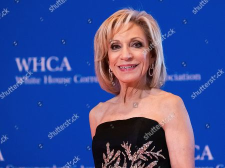 Stock Photo of Andrea Mitchell attends the 2019 White House Correspondents' Association dinner at the Washington Hilton, in Washington