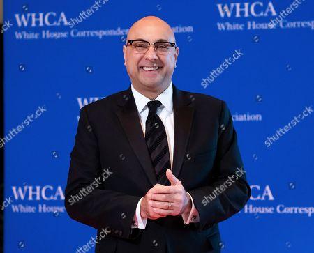 Ali Velshi attends the 2019 White House Correspondents' Association dinner at the Washington Hilton, in Washington