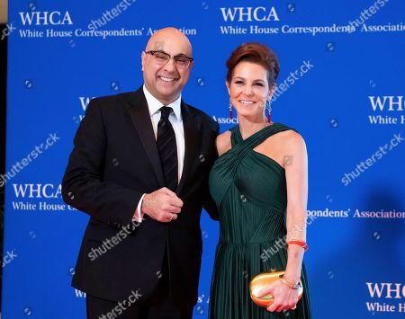 Ali Velshi, Stephanie Ruhle. Ali Velshi and Stephanie Ruhle attend the 2019 White House Correspondents' Association dinner at the Washington Hilton, in Washington