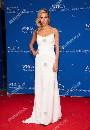 Margaret Judson attends the 2019 White House Correspondents' Association dinner at the Washington Hilton, in Washington