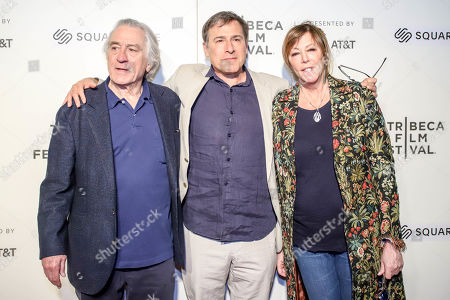 Robert De Niro, David O Russell, Jane Rosenthal