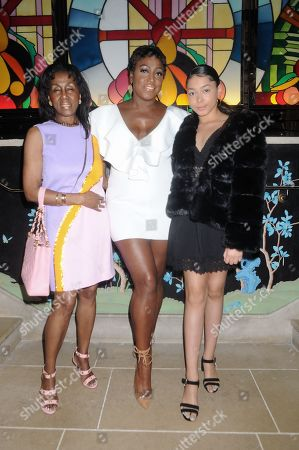 Stock Picture of Theresa Roberts and Mica Paris