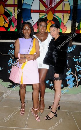 Stock Photo of Theresa Roberts, Mica Paris and Russia Mae
