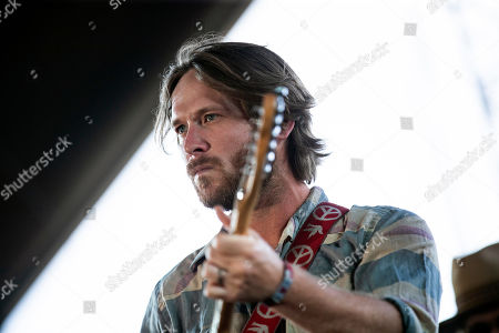 Whiskey Myers' singer and guitarist Cody Cannon performs on stage during the Stagecoach Festival 2019 in Indio, near Palm Springs, California, USA, 27 April 2019. The festival runs from 26 to 28 April 2019.