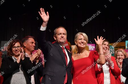 Editorial picture of Australian Opposition Leader Bill Shorten campaigns in Melbourne, Australia - 28 Apr 2019
