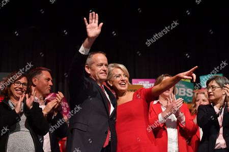 Editorial image of Australian Opposition Leader Bill Shorten campaigns in Melbourne, Australia - 28 Apr 2019