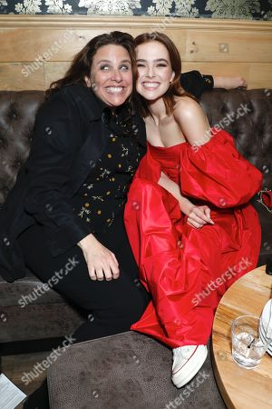 Stock Image of Tanya Wexler and Zoey Deutch
