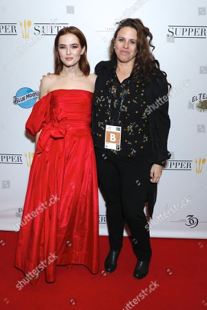Zoey Deutch and Tanya Wexler, director